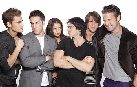 Right now I'm so obsessed with Ian Somerhalder only ... If there's time may be the other Vampire diaries's Boys Paul Wesley Michael Trevino Matt Davis Steven R.McQueen