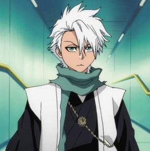 bleach hitsugaya toshiro 10 squad captain (he is realy short 133cm)