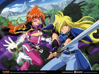 """Slayers episodes are always in the format """"<WORD><!/?> <bla bla bla bla bla>"""". For example: Ep. 1 - """"ANGRY? Lina's Furious Dragon Slave!"""" Ep. 2 - """"BAD! Mummy Men Aren't My Type!"""" Ep. 3 - """"CRASH! Red and White and Suspicious All Over!"""" Ep. 4 - """"DASH! Run for it! My Magic Doesn't Work?"""" In later season, WORD expanded to a short phrase. Here's the list of episodes: http://en.wikipedia.org/wiki/List_of_Slayers_episodes"""