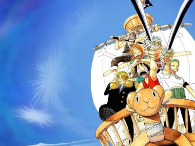 One Piece i will definitely say One Piece........its a story of pirates.....so u can expect treassure hunting...... once i started with 1st episode but i got bored and removed that ऐनीमे from my lap...after some years my bro black panther,....compelled me to watch it..at first i didnt like it then he कहा watch first 10 epsode he guaranteed it is going to be my fav anime...and the secret of that ऐनीमे is.....at first its a bit booooring but when u pass each episodes it started getting और and और interesting........and its became my fav anime...............its sooooooooo adventurous....comedy......epic.....thrilling.......super fight.......when im in a bad mood...or in a sad case when i watch it always makes me laugh........usually i never laugh द्वारा watching animes.......i used to laugh in some of the episodes while watching tom & jerry when i was a kid...........after such a loooooooooong time this ऐनीमे makes me laugh......and it makes me और addicted........other than one piece i luv bleach and naruto.......but out of these animes......the only ऐनीमे that release u from all ur tensions......and makes u laugh is one piece............i can assure u ....if u watch.....ur gonna luv it 4 sure.........heh eh ehe h