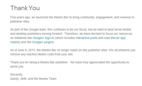 meebo shut down yo