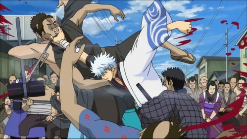 Gintoki! whether it be a strategic battle over खाना या a slaughter fest XD