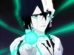 ulquiorra schiffer from bleach with his gorgeous green eyes