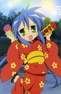 Konata from Lucky Star.