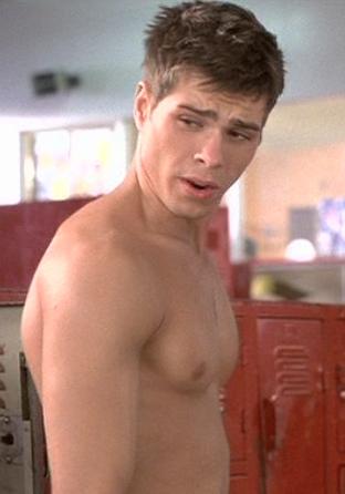 Matthew's yummy nipple. <3333333