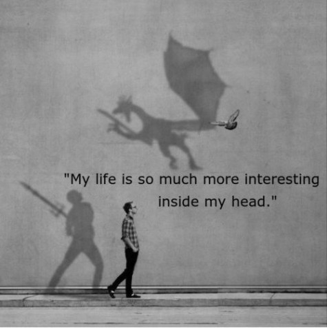 I really wanna escape reality sooo much and live life inside my dream world