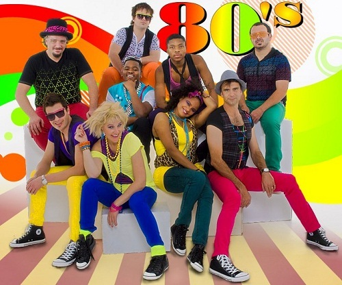 The 80's. It looks so fun!!! And the clothes looked soooo cool!!!