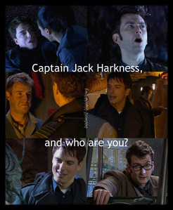 """""""Captain Jack Harkness and who are you?"""" STOP IT!"""