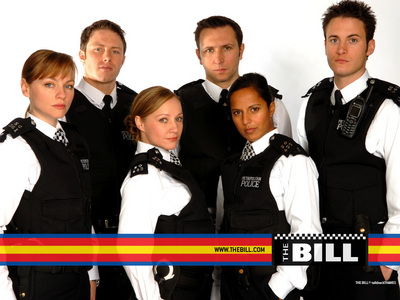 I used to watch The Bill before it was axed and I watch Torchwood,which has police in it, but its stopped right now.
