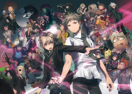 Dangan Ronpa(and SDR2). so excited for the anime!