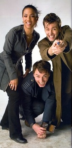 John Barrowman LOVES the camera.
