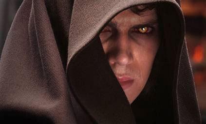 Hayden Christensen as Darth Vader in SW:Episode 3 Revenge of the Sith