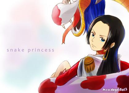 蟒蛇, 宝儿 Hancock (One Piece) The pirate Empress........!!!