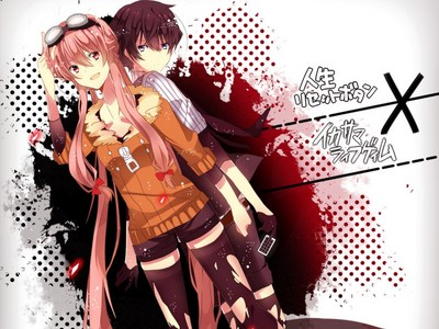 Mirai Nikki it surprised me at the end ._. (LOTS OF BLOOD)