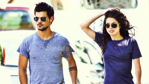 Taylor is 21 and Marie is gorgeous Don't they look great together (not as good as with RK but still MDR XD)??