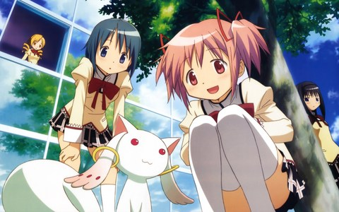 Out of that 列表 I would recommend Puella Magi Madoka Magica, Chobits and Clannad the most.