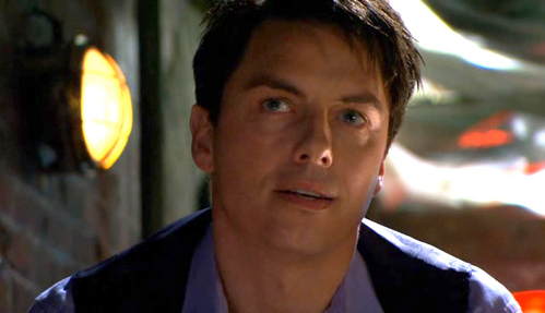 """Captain Jack Harkness :3 I would scream in his face then be like """"Ive just been hit bởi the Harkness bug"""""""