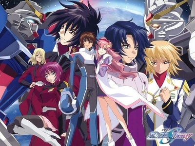 After I 包, 换行 up the current series that I am watching, I plan on watching Gundam SEED.
