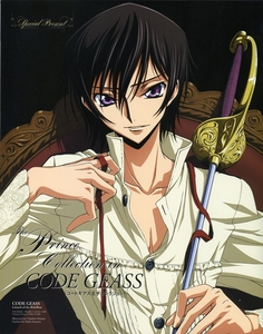 Te he! Mine would totally be Lelouch... Ah, why does he have to be so awesome!?