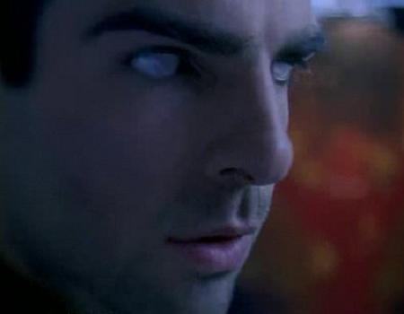Zachary Quinto with edited eyes :)