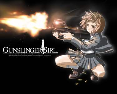 I watch 日本动漫 on Netflix,so I was gonna try Gunslinger Girl.It looks awesome!