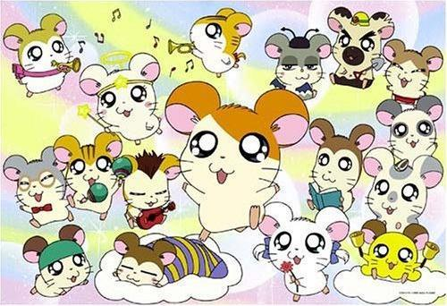 I actually enjoyed watching Tottoko Hamtaro since the hamsters are so cute!