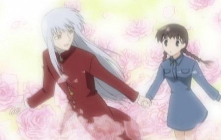 Ayame stealing Tohru <3
