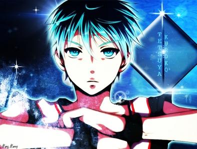 Tetsuya Kuroko HE'S POWERFUL...... human power wise :)