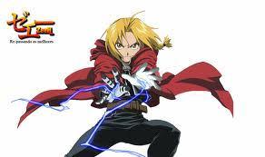 Edward Elric from Fullmetal Alchemist!