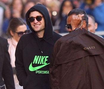 my baby in a Nike hoodie<3