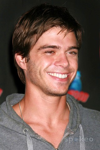 Matthew with stubble on his face. :)