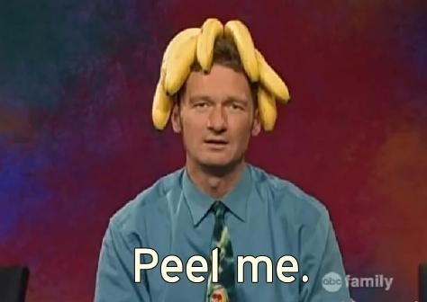 LOL. Ryan and his bananas.