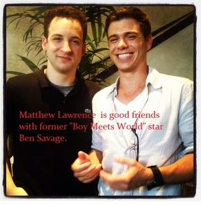 A fact about Matthew Lawrence. :)