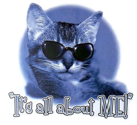 A cat called Moon. :D