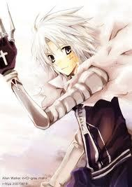 Allen Walker from D-Gray Man for life :) I used to Amore Lelouch from Code Geass instead , but once I started watching D-Gray Man Allen became my new Amore interest XD