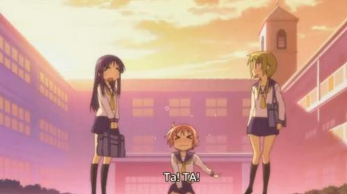 """Here! a pic of """"YuyuShiki"""" Have Fan! :)"""