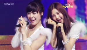I think TIFFANY. She is cute and im true her beacuse if i biased it would be SEOHYUN