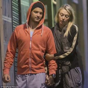 Maria isn't married but her boyfriend is grigorj dimitrov, a Теннис player
