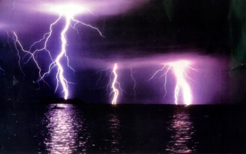 I would dance around in a vast area during a thunderstorm and watch the amazing view of the lightning