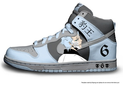 First I'd donate a million dollars to charity then I'd waste it on 아니메 stuff. Like this Grimmjow Nike.