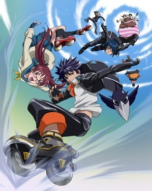 Air Gear-i really like it and think più people should watch it