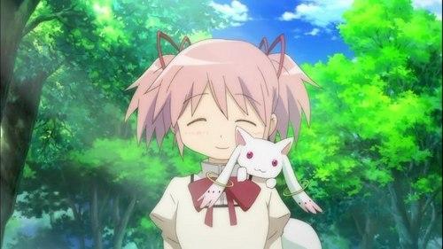 Madoka Kaname is sweet, inocent and kind.
