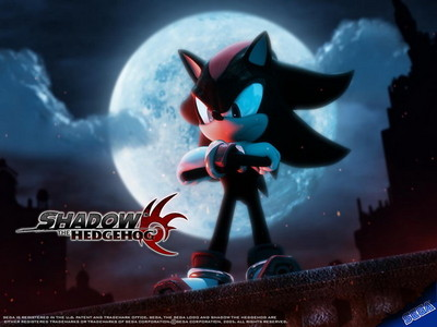 definitly shadow the hedgehog it is a sonic game it involves sonic