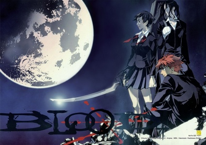 I'm not shure if it counts but blood + is kinda a horror anime.