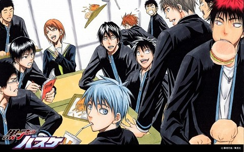 Kuroko no Basuke (in the picture) is a must watch ~ssu!! Also Hoắc quản gia is amazing!! ...And Hetalia!! <3333 Vampire Knight is pretty good too!