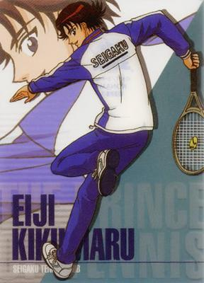 I had a crush on Kikumaru Eiji from Prince of tennis since I was small...now I still like him....0///0