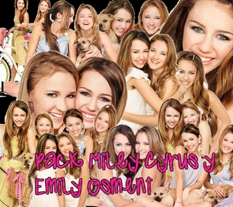 hope u like it.... http://b5.img.v4.skyrock.net/8517/49198517/pics/2122795315_1.jpg http://www.disneydreaming.com/wp-content/uploads/2009/05/miley-cyrus-and-emily-osment-dog.jpg http://1.bp.blogspot.com/_pKQ8k-8FVSE/S3pc6kuGo9I/AAAAAAAAALw/1Sn3WwvWTn8/s400/emily+%2B+miley+2.png