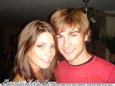 Chace Crawford and Ashley Greene.
