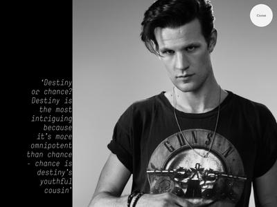 Matt wearing a Guns'n'Roses t-shirt
