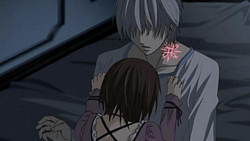 Zero X Yuki from Vampire Knight.